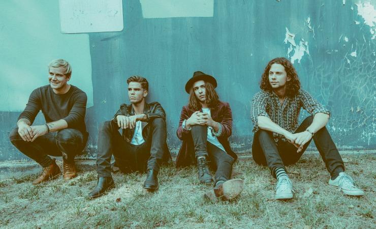 Photo of the group, Kaleo
