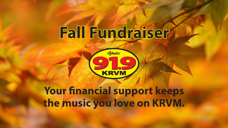 KRVM's Fall Fundraiser is Underway!