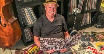 Greg Carter, host of Vinyl Revival