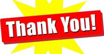 Fall Membership Drive – Thank you!