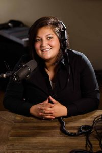 Alexis Sallee, host of Earthsongs