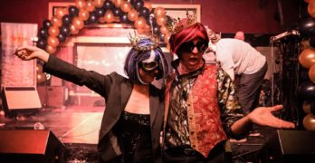 Funky Downtown Prom Photos