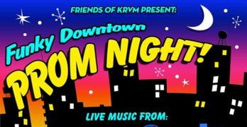 Dance the night away at the Funky Downtown Prom