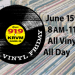 It's all Vinyl, all day on Friday